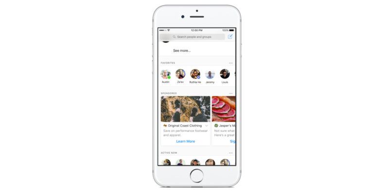 Facebook testing News Feed-like ads inside Messenger