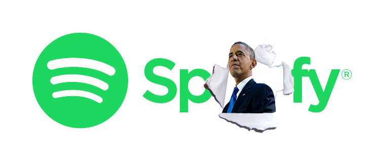 Spotify makes an official(ish) offer for President Obama to join its team