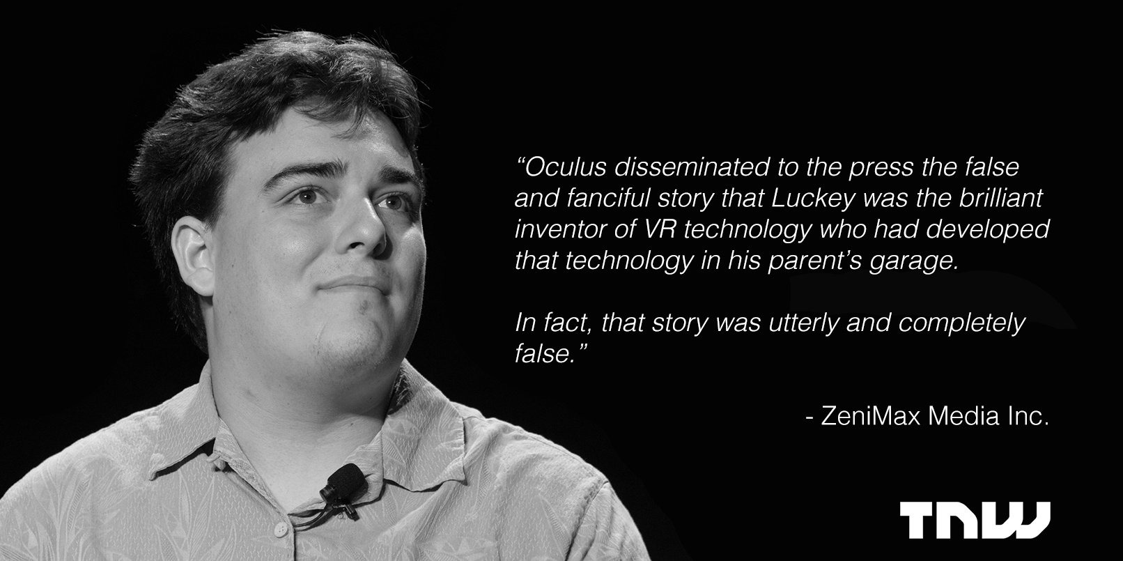 Oculus founder headed to court over allegations of stolen tech and bogus origin story