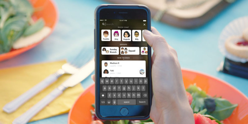 Snapchat reveals major redesign and new universal search feature