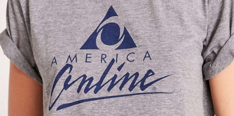 Urban Outfitters hawks the AOL shirt no one asked for