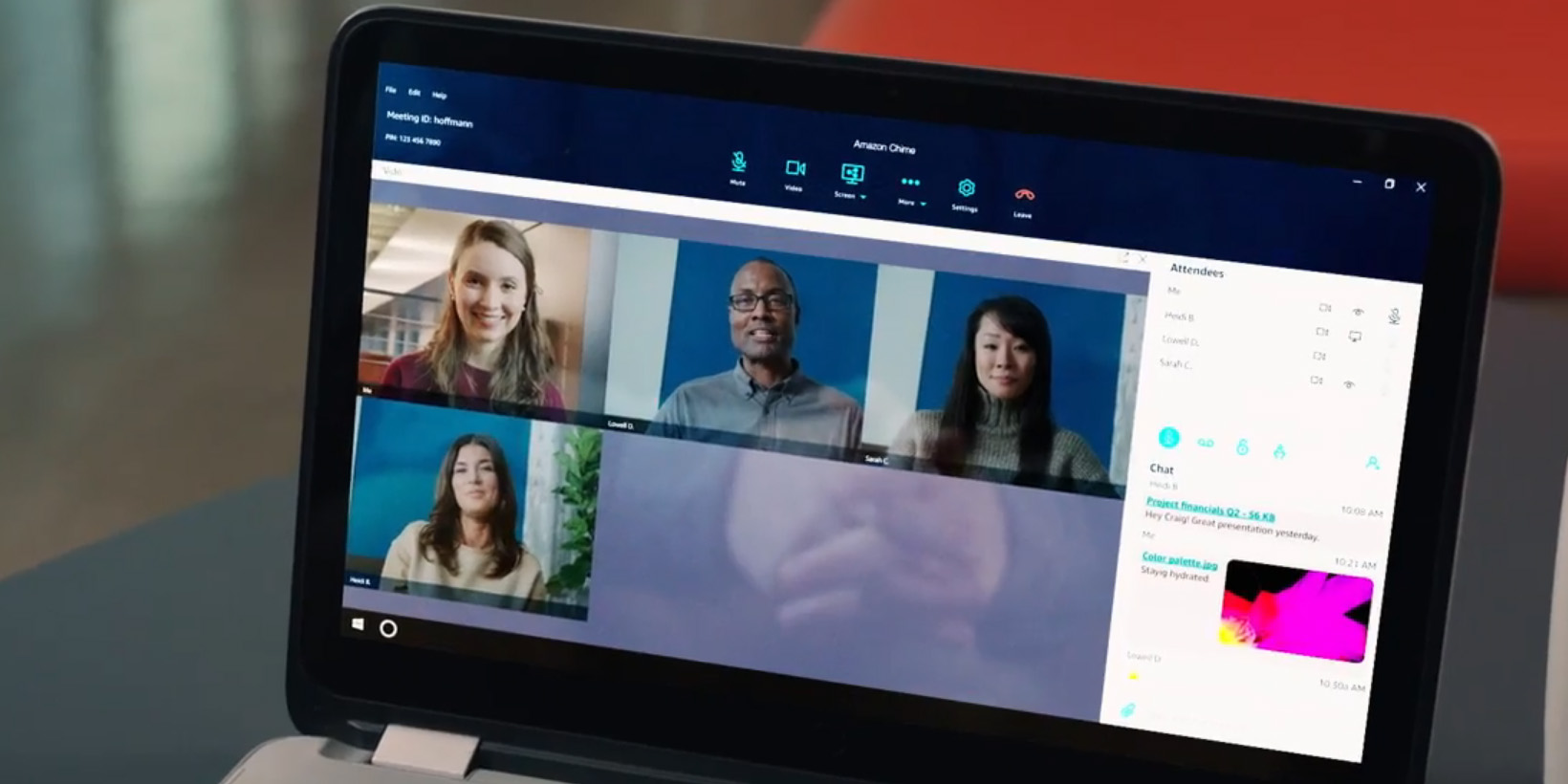 amazon takes on skype and gotomeeting with its chime video