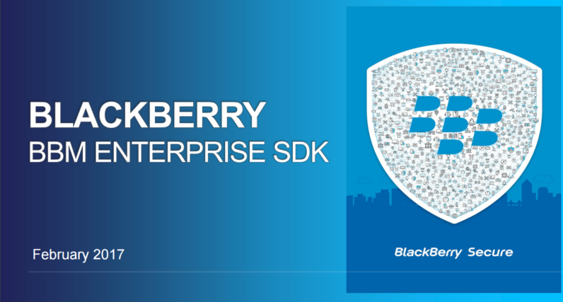 Blackberry Just Launched A Super Secure Messaging System For