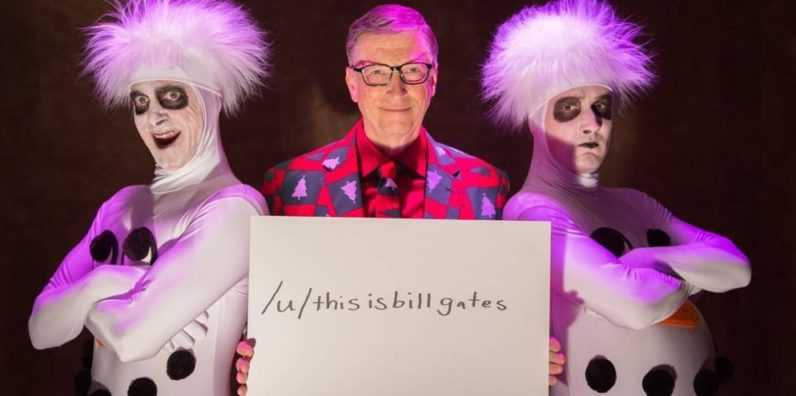Bill Gates took to Reddit to discuss cheeseburgers and AI