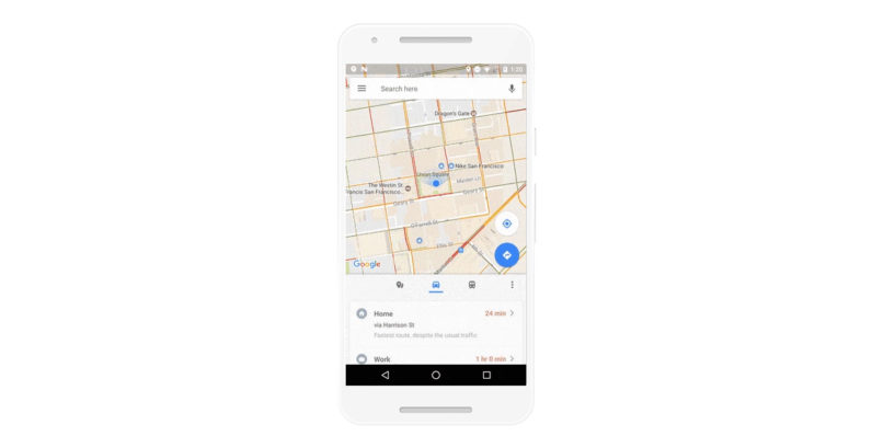Google Maps' clever Android update makes it easier to find public transport on the go