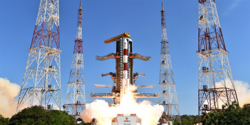 India just broke a world record by launching 104 satellites in a single mission