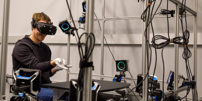 Mark Zuckerberg reveals Oculus' glove-like VR controller prototypes
