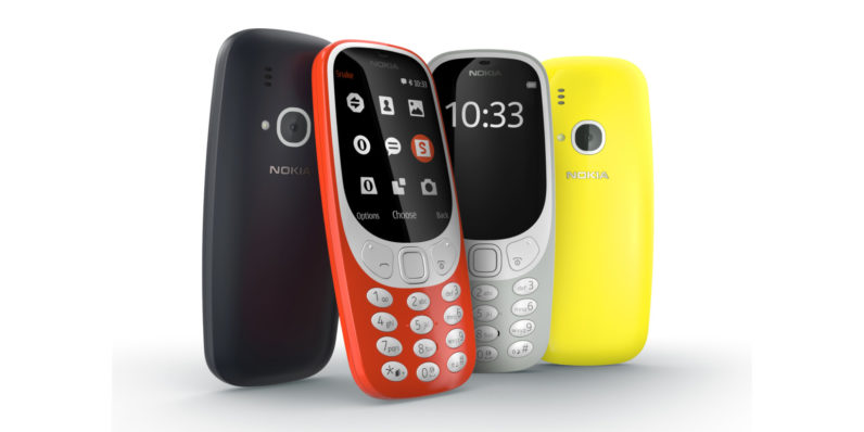 The Nokia 3310 is back, baby