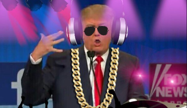 donald trump, dj trump, video