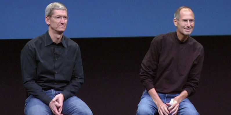 apple, tim cook, steve jobs