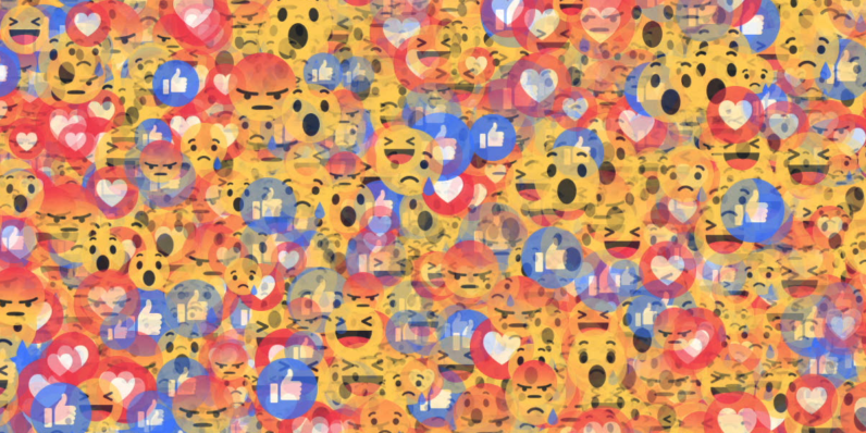 facebook, reactions, go rando