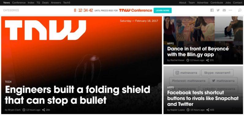 TNW Homepage