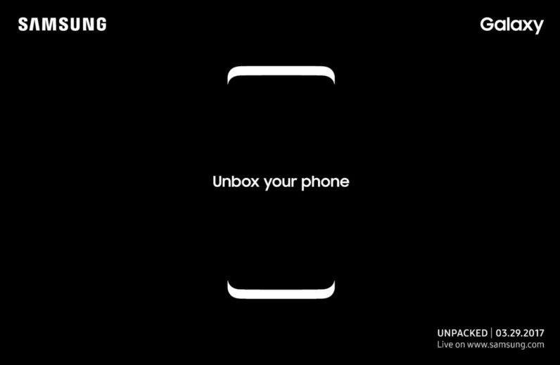Samsung Galaxy S8 to officially be revealed on March 29