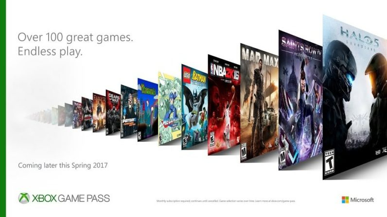 Xbox launches Netflix-like Game Pass subscription with over 100 games