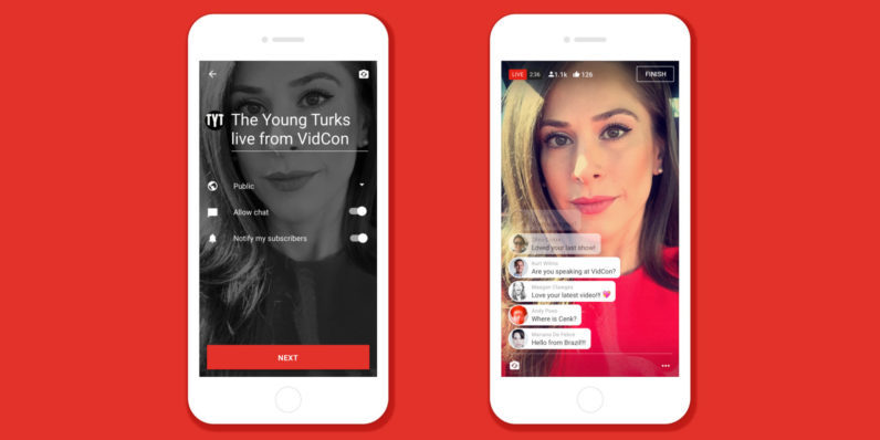 YouTube is opening up its mobile livestreaming feature to more users