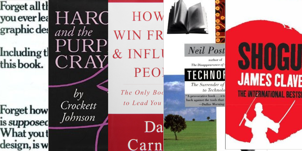 5 more inspiring reads for aspiring entrepreneurs: top tech CEOs tip top books