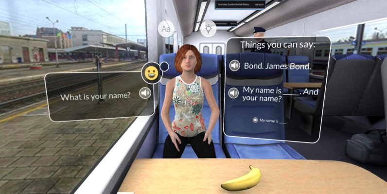 Mondly's VR language-learning app is the closest thing to actual immersion