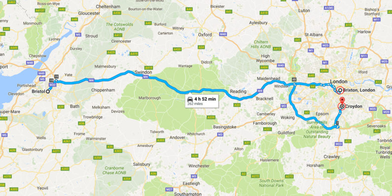 Londoner gets a 5 hour 'accidental' detour courtesy of Uber