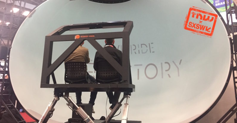 "I rode an 8K ""VR"" rollercoaster and it was beautifully awkward"