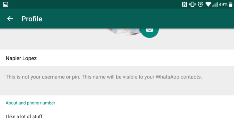 WhatsApp officially brings back its text statuses