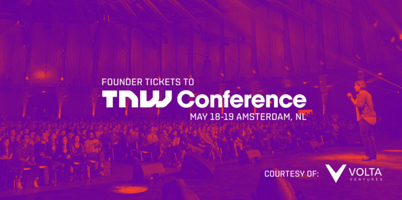 Attention Founders: Volta Ventures wants 10 Dutch and Belgian entrepreneurs to join them at TNW Conference ...