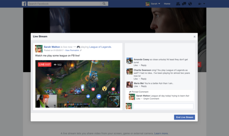 Facebook now lets anyone go Live from a desktop