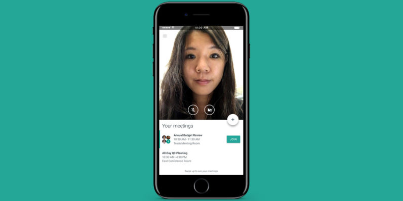Google launches Meet, a video conferencing app for businesses