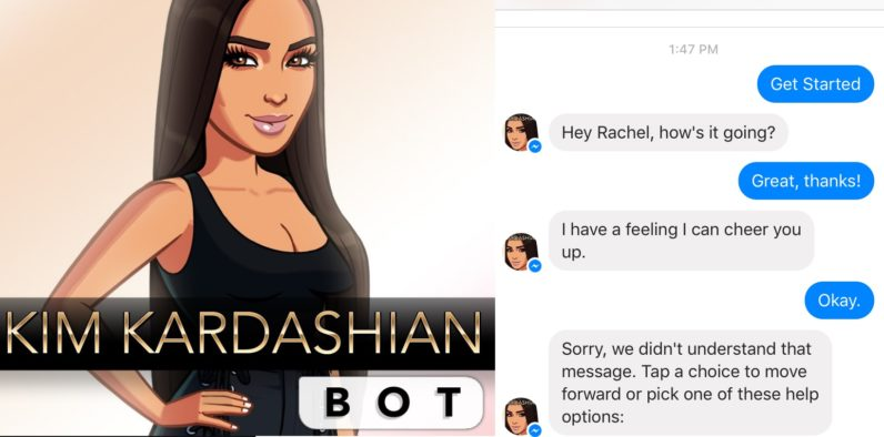 Kim Kardashian's new bot wants to solve puzzles with you