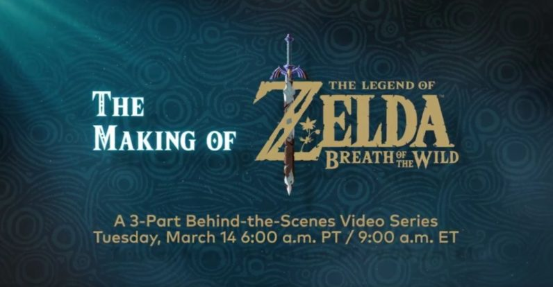 Nintendo is releasing a Zelda: Breath of the Wild documentary tomorrow