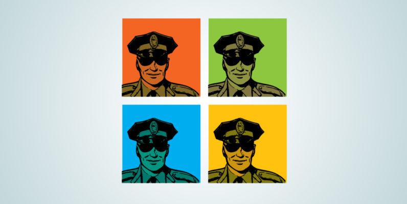 microsoft, police, dutch
