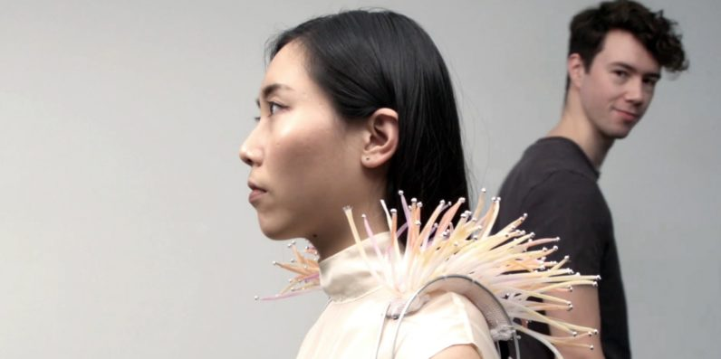 Crazy shoulder wearable wants to help you attract a mate
