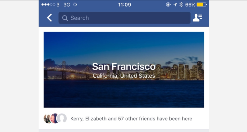Facebook adds City Guides to become your new travel