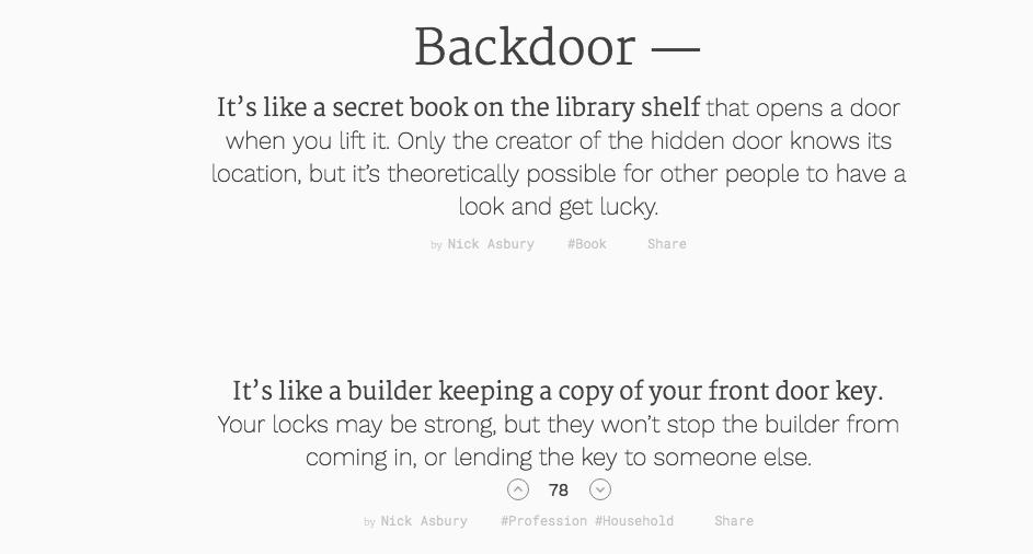 Sideways Dictionary Uses Hilarious Analogies To Explain Boring Tech