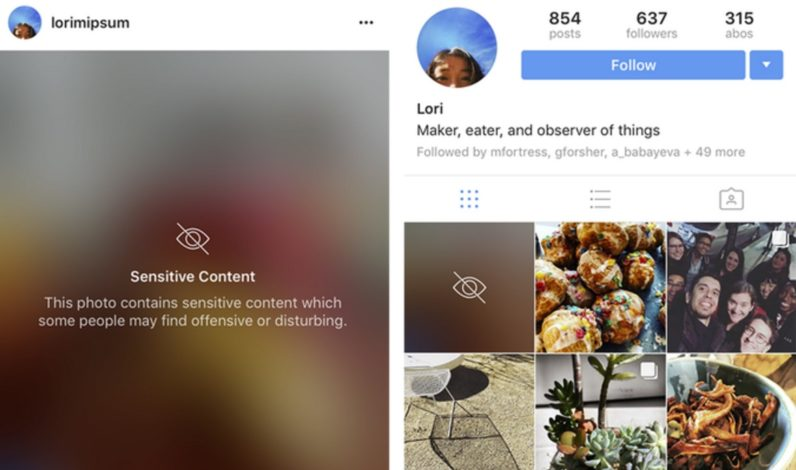 Instagram's new policy to blur 'sensitive' photos is bound to get messy
