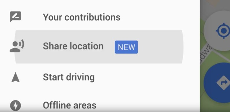 Google Maps now lets you share your location with your friends