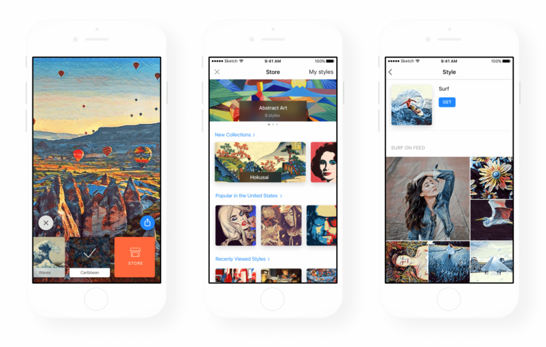 Prisma's new filter creator lets you copy any art style with AI