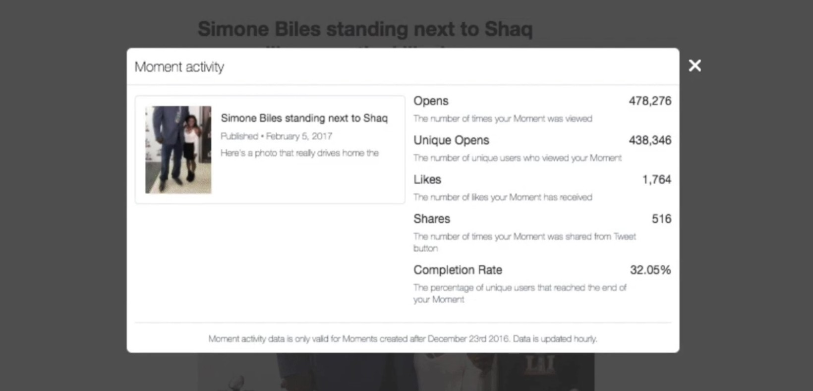 Twitter adds Analytics to Moments to reassure publishers it's no waste of time