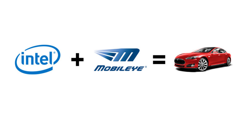 intel, tesla, self-driving, cars, mobileye