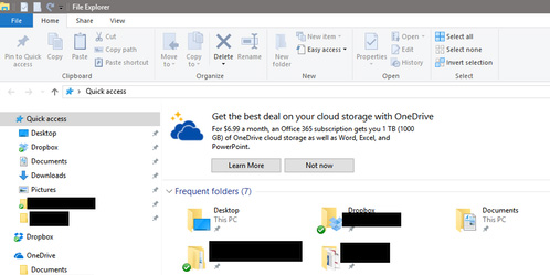 Windows 10 is bringing shitty ads to File Explorer, here's how to turn them off