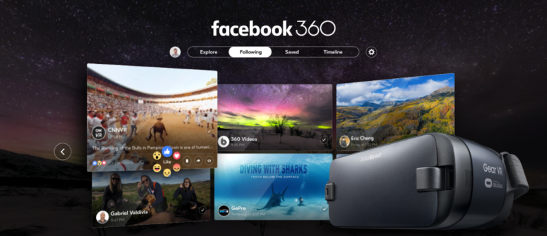 Facebook launches its first real VR app for 360 photos and videos