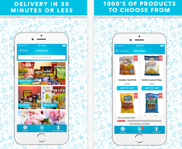 How GoPuff Brings On-Demand Convenience Store Delivery To Your Door Within 30 Minutes