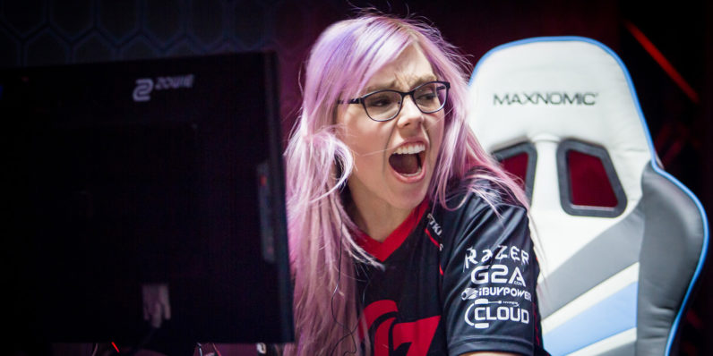 What's the score on gender diversity in esports?