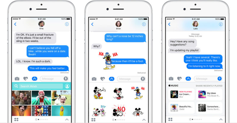 Sorry Apple, but the iMessage App Store sucks