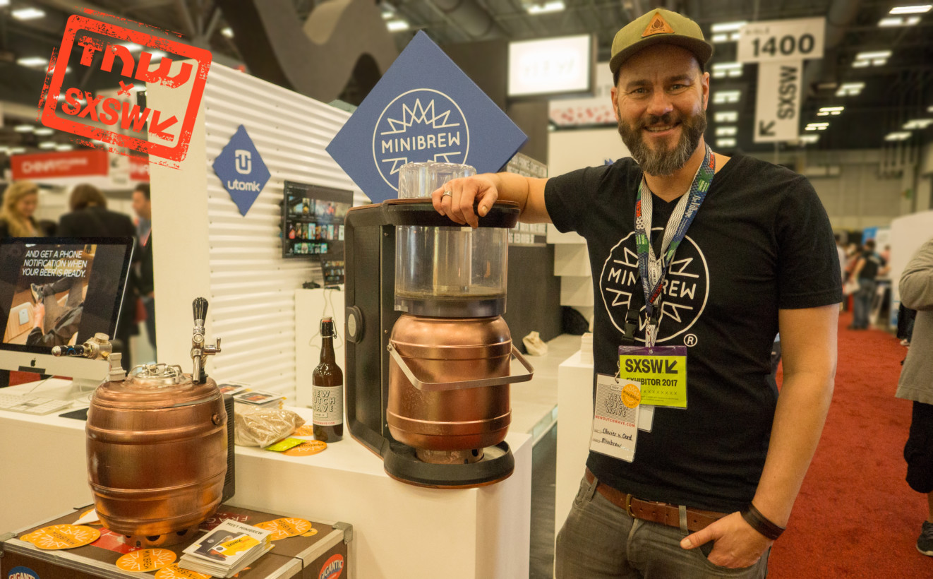 Minibrew makes home brewing as easy as making a cup of coffee