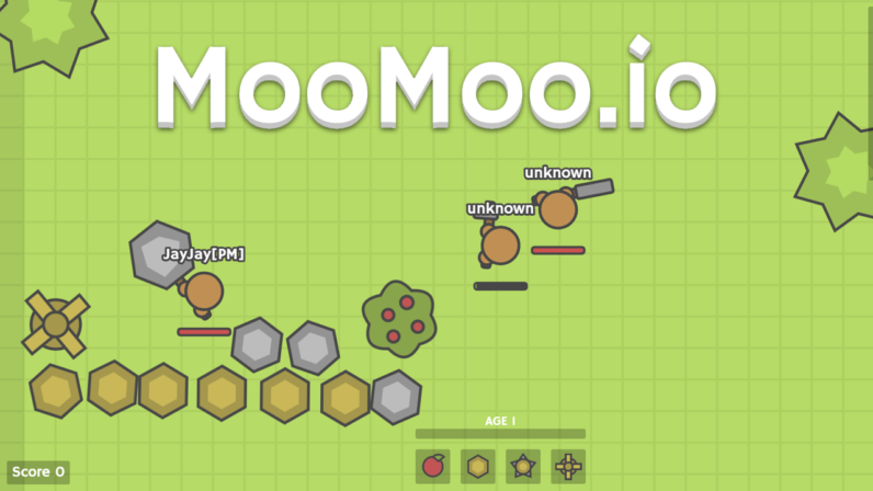 Moomoo.io: Another Great IO Game from Sidney de Vries