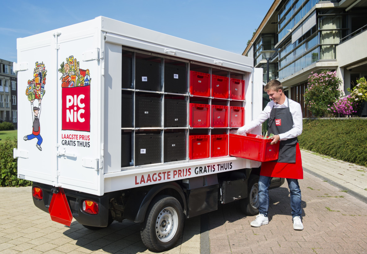 Dutch grocery delivery startup Picnic picks up historic €100mm funding round after only 1.5 years