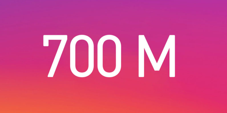 Instagram shows no sign of slowing as it hits 700 million users