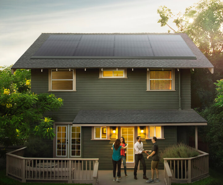 Tesla unveils solar panels that blend into your rooftop