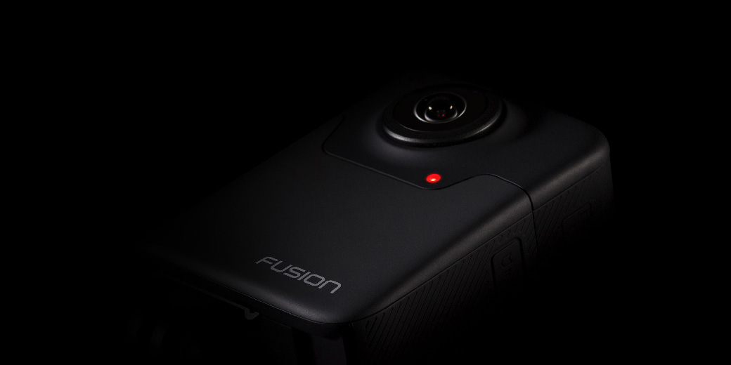 photo image GoPro's Fusion camera lets thrillseekers shoot 360-degree video in 5.2K
