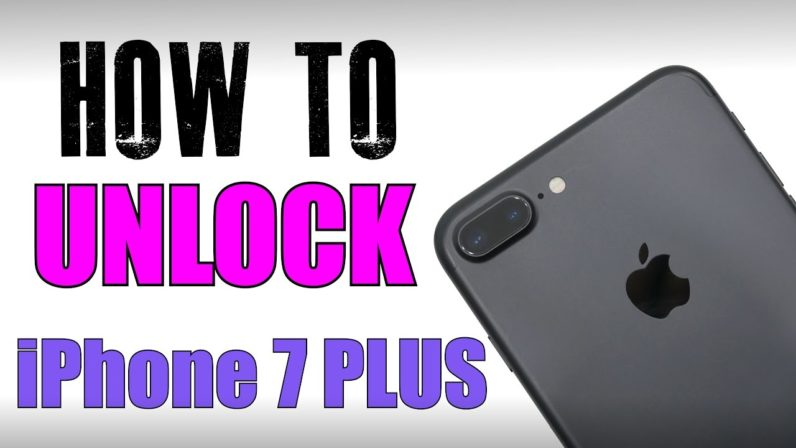 How to Unlock iPhone 7 Carrier Lock